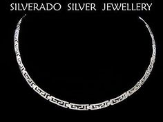 Sterling-Silver-925-Ancient-Greek-Eternity-Key-Fine-Necklace-No1-43-cm-16-77