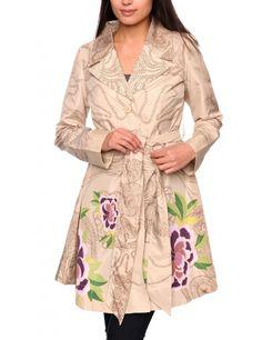 Desigual Abrig Sasha Trench Coat - $115.50