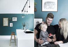 Ved et tilfælde blev Emilie og Jesper de heldige ejere af lejligheden på Østerbro, som de har forvandlet til et lyst, hyggeligt og indbydende hjem med plads til leg.