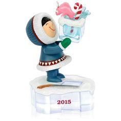 "New 2015 Hallmark Keepsake ""Frosty Friends"" Ornament - 36th in Series - Fishy #Hallmark"