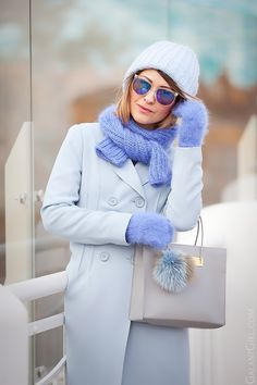 asos+blue+coat-balenciaga+cable+bag