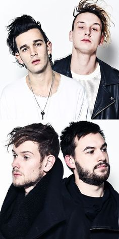 15. The whole band has some serious hair game. | Community Post: 19 Things You Should Know About The 1975