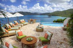 Wenn man hier Urlaub macht, sind die Aussichten sowohl im wörtlichen als auch im übertragenen Sinn atemberaubend! | Peter Bay auf den Amerikanischen Jungferninseln, Karibik, Objekt-Nr. 447031vb
