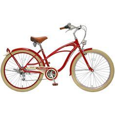 【お店で受取り選択可】 ブリエグラン 266 26インチ 外装6段変速 ビーチクルーザー シティサイクル 自転車(じてんしゃ)[CBA-1]