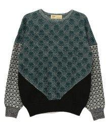 TOGA : TOGA Jacquard knit pullover