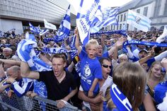 125.000 Gantoise-supporters vieren eerste landstitel - De Standaard