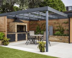 The pergola you choose will probably set the tone for your outdoor living space, so you will want to choose a pergola that matches your personal style as closely as possible. The style and design of your PerGola are based on personal Backyard Garden Landscape, Pergola Garden, Backyard Patio Designs, Outdoor Pergola, Backyard Landscaping, Diy Pergola, Pergola Lighting, Garden Pavilion, Cozy Backyard