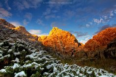 Sunrise in the mountains by Helder Coelho on 500px