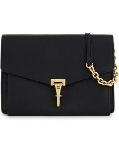 BURBERRY - Leather crossbody bag | Selfridges.com