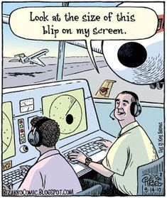 Bizarro is brought to you today by Naked Hikers. I'm not sure how I feel about this air traffic control cartoon.