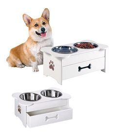 Take a look at this Drawer Pet Feeder by Etna Products on #zulily today!