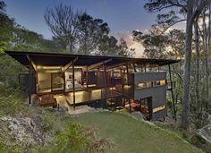 Walknorth Architects | Island House, Scotland Island - Sydney, Australia (2011).