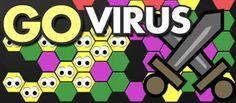 GO Virus - Haga crecer su virus y hacerse cargo del campo de juego. (Nueva versión de batalla)