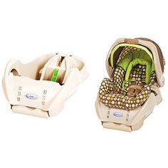 Graco - SnugRide Infant Car Seat with Extra Base Bundle, Lively Dots