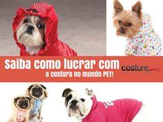 Fique atento Saiba como lucrar com a costura no mundo PET! , Saiba como lucrar com a costura no mundo PET!    Que o mundo PET trás lucro isso é fato. Atualmente o mercado PET no Brasil movimenta 14 b... , Rogério Wilbert , http://blog.costurebem.net/2014/09/saiba-como-lucrar-com-costura-mundo-pet/ ,  #lucrarcomcachorro #lucrocommodapet #modapet #mundopet