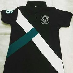#promo #nuestrapromo #nosgraduamos #lachemisedetupromo Camisa Polo, Polo Design, Senior Shirts, Equestrian Outfits, Polo T Shirts, Blouses For Women, Womens Fashion, Mens Tops, How To Wear