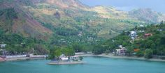 Blue Colour Lake from Bhimtal : Beauty of Lakes: