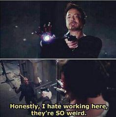 Iron Man 3 Haha! I loved this part!