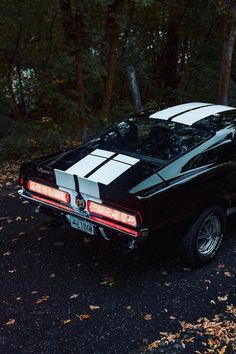 Black 67 Mustang rear GT500 67 Mustang, Vintage Classics, Gt500, Aesthetic Pictures, Dream Cars, Trucks, Wallpapers, Magazine, Board