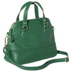 Merona® Mini Satchel Handbag with Crossbody Strap - Green