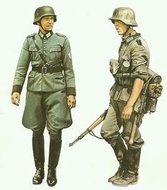 독일 국방군 Military Diorama, Military Art, Military History, Ww2 Uniforms, German Uniforms, Military Uniforms, German Soldiers Ww2, German Army, Special Forces