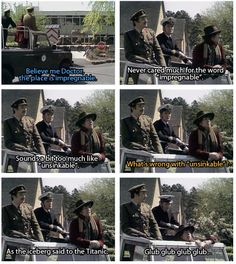 The fourth Doctor was so funny. Why do more people not want to go back and watch Classic Who?