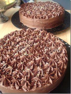God, men ganska mastig chokladtårta