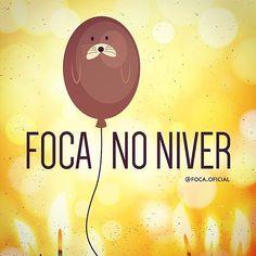 🎈#focanoniver #foca #foco #niver #niverchegando #aniversario #parabens…