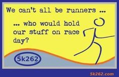 Gave me a good laugh!! Very thankful for all the support I have been getting from my non-runner friends as well! :)