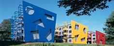University of Twente, Enschede, The Netherlands.  I lived in these apartments as a visitor from the USA.