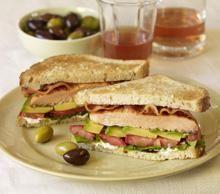 Salmon Avocado Club Sandwich Recipe