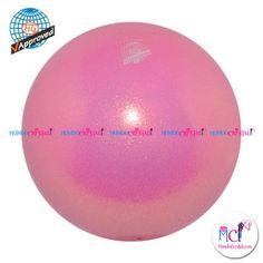 #Pelota de Gimnasia #Rítmica Pastorelli  glitter-HV-rosa-claro