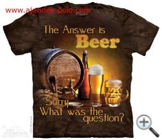 Looking for a new awesome graphic t-shirt? Try the Beer Outdoor T-Shirt on for size! Shop THE MOUNTAIN website for the largest and coolest selection of USA and Americana t-shirts online. 3d T Shirts, Tie Dye T Shirts, Funny Tshirts, Make Beer At Home, How To Make Beer, Homebrew Recipes, Beer Recipes, Saint Patrick's Day, Beer Humor
