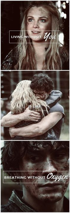 Impossible. ❤️ - The 100 - Bellarke - Bellamy Blake - Clarke Griffin #Bellarke