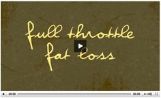 Full Throttle Fat Loss Review Full Throttle, Does It Work, Lose Fat, Nervous System, How To Plan, Physiology