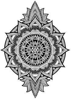 New Tattoo Mandala Wrist Dots Ideas Mandala Tattoo Design, Tattoos Mandalas, Dotwork Tattoo Mandala, Tattoo Tribal, Geometric Mandala Tattoo, Tattoo Henna, Mandala Drawing, Mandala Art, Bild Tattoos