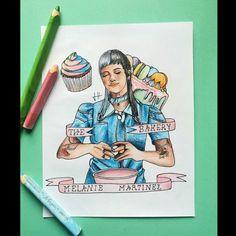 Melanie Martinez, Cry Baby, After School, Princess Zelda, Fan Art, Portrait, Drawings, Artwork, Fictional Characters
