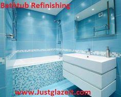 fog free shower mirror Bathroom Modern with bathroom bathroom mirror blue bathroom blue mosaic tile blue Blue Modern Bathrooms, Blue Bathrooms Designs, Modern Luxury Bathroom, Bathroom Design Luxury, Bathroom Interior, Modern Shower, Budget Bathroom, Bathroom Renovations, Small Bathroom