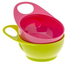 Brother Max easy-hold bowls are super useful, bright and fun! No more mess at mealtimes! www.tdibrandz.com