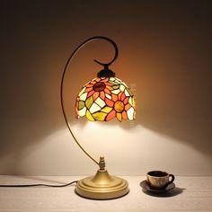 Sunflower Tiffany Lamp  8S2-1T30