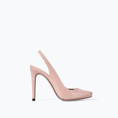Image 1 of SLING BACK SHOES WITH HIGH HEEL from Zara