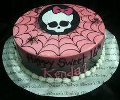 Image result for monster high skull cake