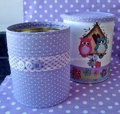 más y más manualidades: 15 ideas para reciclar latas