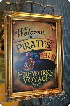 Disney World Pirates & Pals Fireworks Voyage Review - On my Disney bucket list!!!