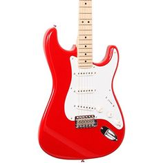 Fender Eric Clapton Stratocaster, Maple Fretboard - Torino Red >>> Be sure to check out this awesome product.