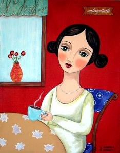 """At the Coffee Shop"" by Claudia Garcia"