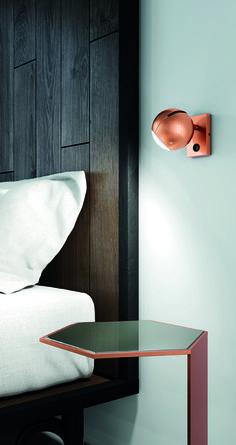 BO-LA by Milan Iluminación | MLN BO-LA/ 6540 | Diseñado por Jordi Jané / Designed by Jordi Jané | Acabado Cobre / Copper Finish