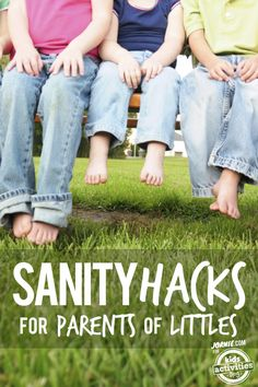 Sometimes as parents we need some extra ways to cheat the system. Here are some fun parenting hacks!