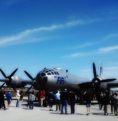 "All photos are of ""FIFI"" the only remaining airworthy B-29 bomber, while visiting Daytona Beach. Taken 03/04/2012."
