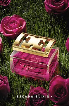 Especially Escada Elixir: el nuevo perfume Escada con intenso aroma a rosa Parfum Mademoiselle, Versace Perfume, Sent Bon, Best Fragrances, Beautiful Perfume, Perfume Collection, Fragrance Parfum, Body Lotions, Parfum Spray